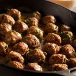 Turkey Swedish Meatballs