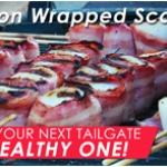 Turkey Bacon-Wrapped Scallops